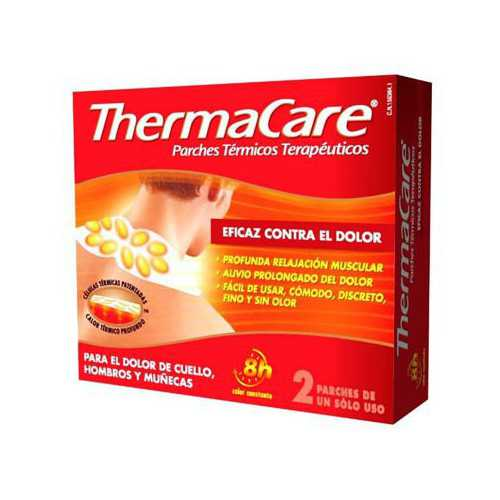 Thermacare Parches Termicos Cuello 2 Unidades