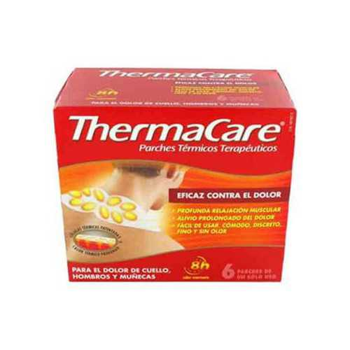 Thermacare Parches Termicos Cuello 6 Unidades