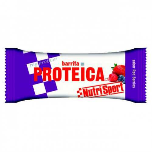 Nutrisport Barrita Proteica Red Berries