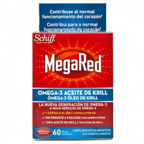 Megared Omega-3 500 mg 60 Cápsulas