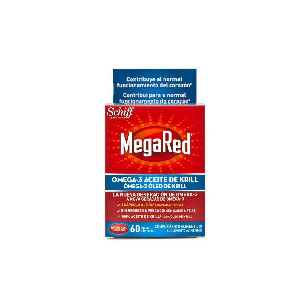 Megared Omega-3 500 mg 40 Cápsulas