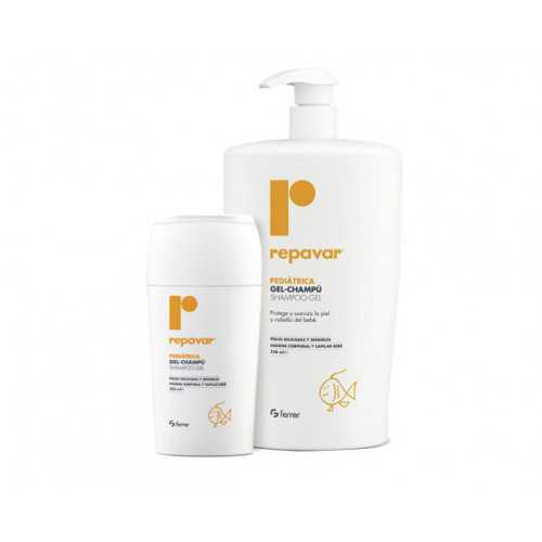 Repavar Pediatrica Gel-Champú 200 ml.