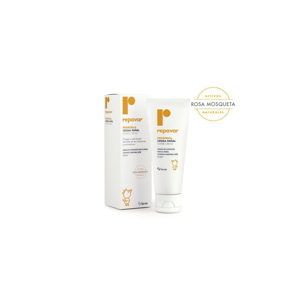 Repavar Pediatrica Crema Pañal 75 ml.
