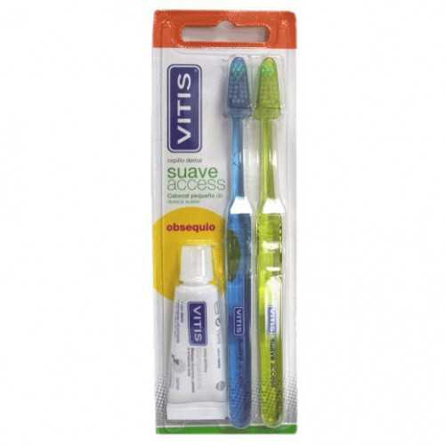 Vitis Cepillo Dental Suave Acces DUPLO