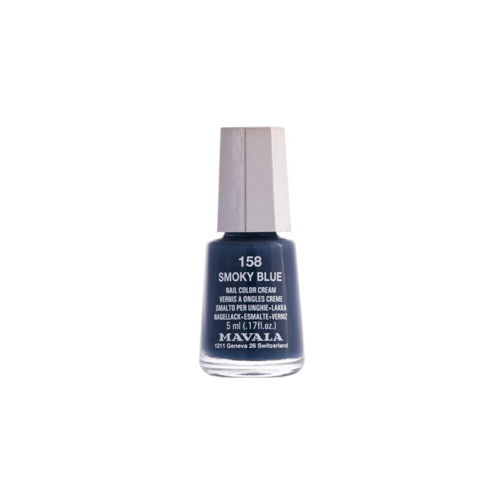 Mavala Esmalte de Uñas Smoky Blue 158 5 ml.