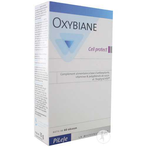 Pileje Oxybiane Cell Protect 60 Cápsulas