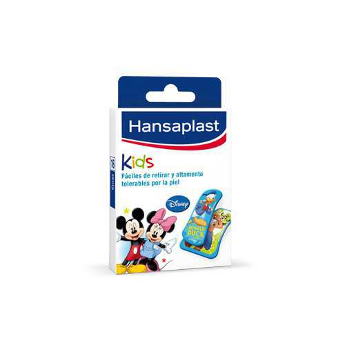 Hansaplast Med Kids Tiras Mickey-Friends