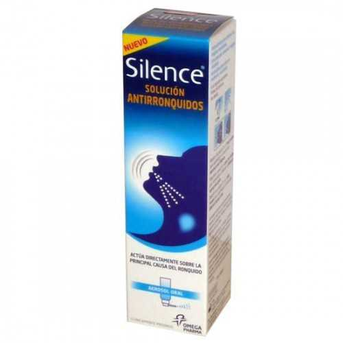 Silence Antirronquidos 50 ml.