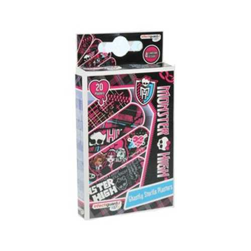 Monster High Tiritas Infantiles 20 Unidades