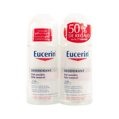 Eucerin DUPLO Desodorante Antitranspirante Roll-On