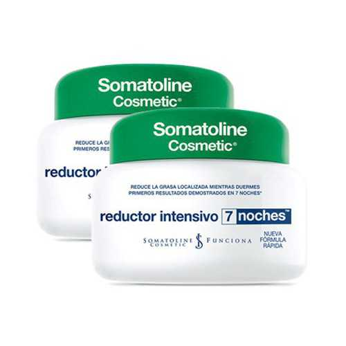 Somatoline Reductor Intensivo 7 Noches DUPLO 2x450 ml