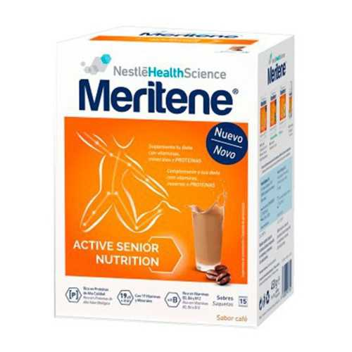 Meritene Active Senior Nutrition Batido de Cafe 15 Sobres