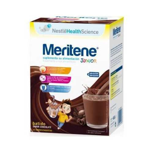 Meritene Junior Batido Sabor Chocolate 15 Sobres