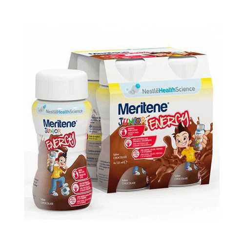 Meritene Junior Energy Chocolate 4x125 ml.