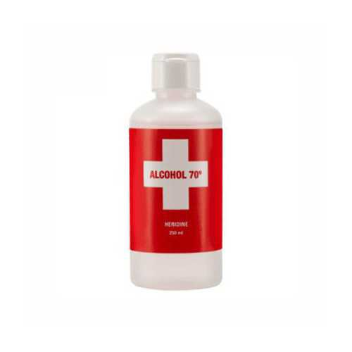 Heridine Alcohol 70º 250 ml.