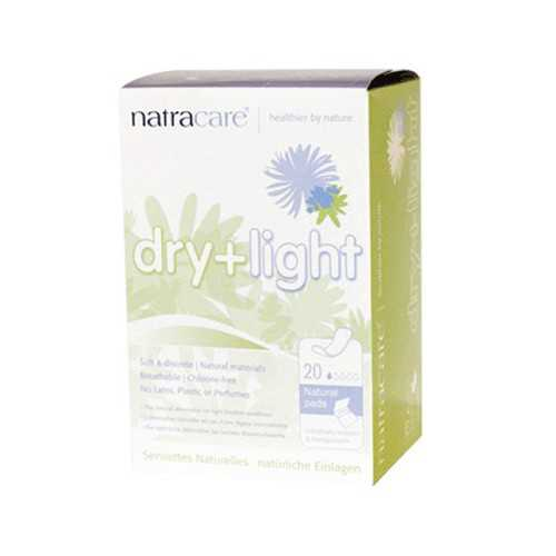 Natracare Dry+Light Incontinencia 10 Compresas