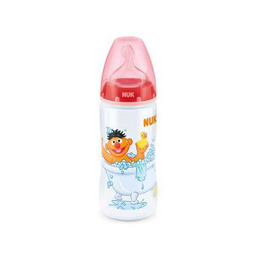 Nuk First Choice Biberon Silicona 6-18 Meses 300 ml.