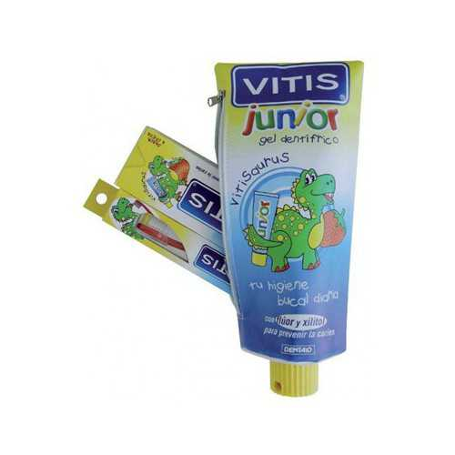 Vitis Junior PACK Pasta Cepillo y Estuche