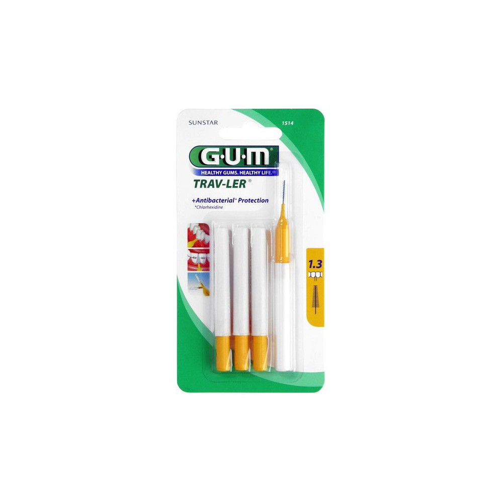 Gum Cepillo Interdental 1.6 Mm Conico 1614