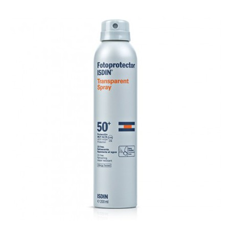 Isdin Fotoprotector SPF50+ Spray Transparente, 200 ml