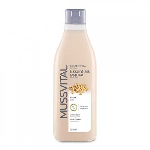 Mussvital Essentials Gel Avena Dosificador 750 ml.
