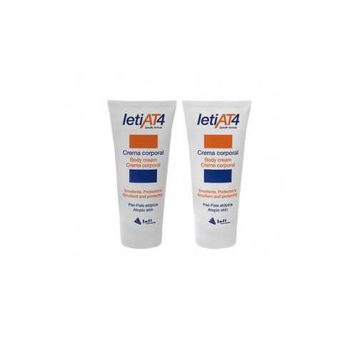 Leti AT-4 Crema Corporal Pack Duplo 2x200 ml.