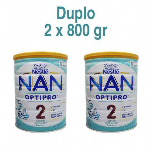 Nestle Nan Optipro 2 DUPLO 800 gr.