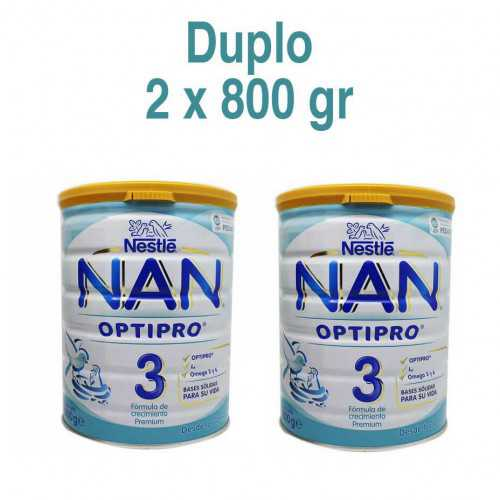 Nestle Nan Optipro 3 DUPLO 800 gr.