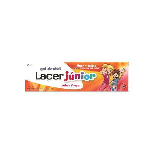 Lacer Junior Gel Dental 75 ml.