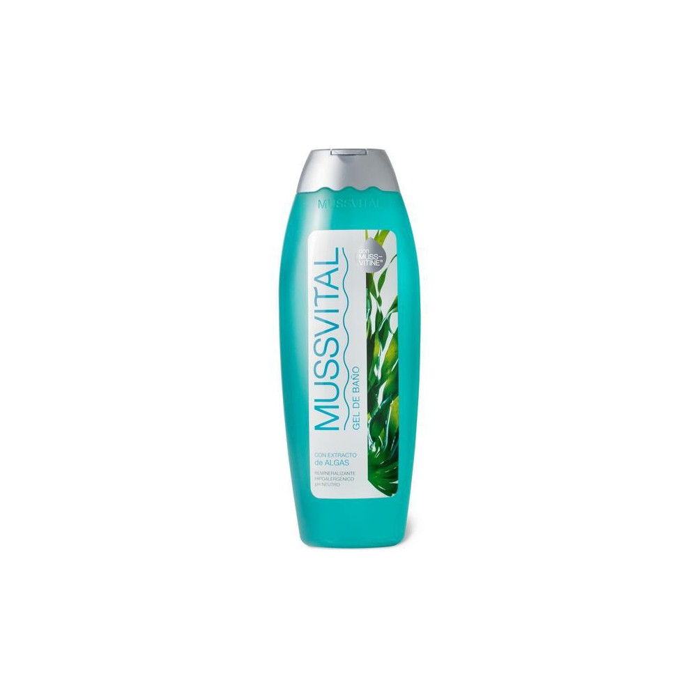 Mussvital Gel de Baño de Algas 750 ml.