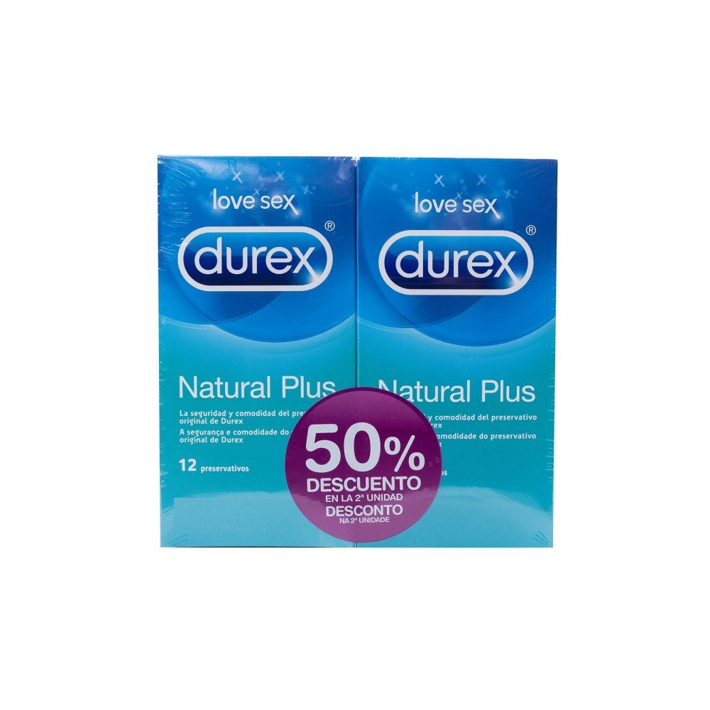 Durex Natural Plus DUPLO