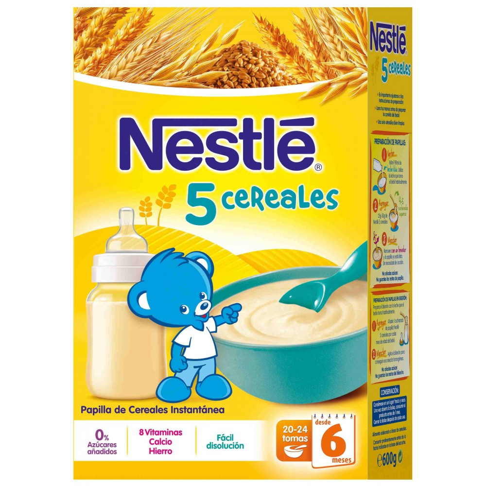 Nestle 5 Cereales
