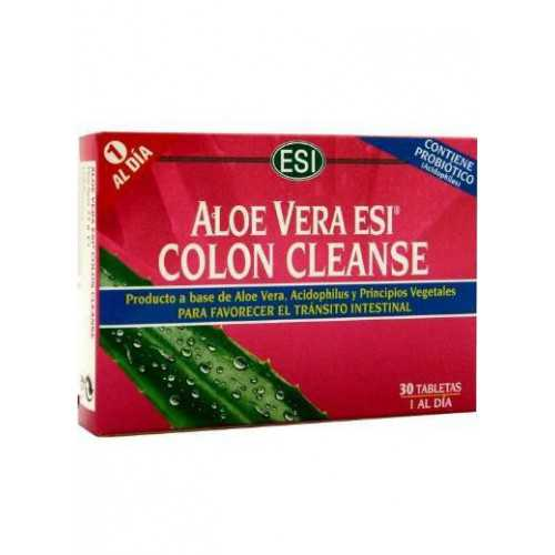 ESI Aloe Vera Colon Cleanse 30 Tabletas