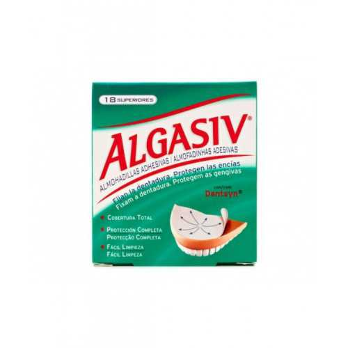 Algasiv Dentadura Superior 30 Almohadillas