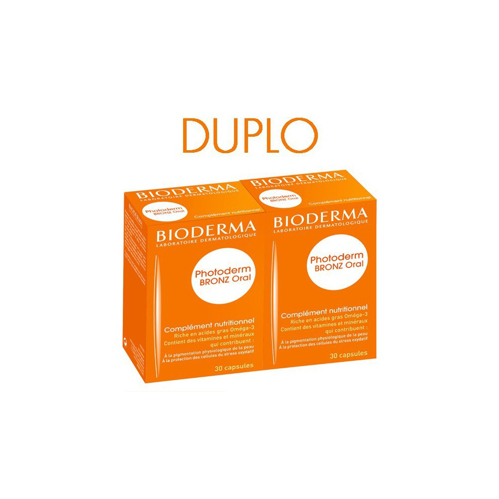 Bioderma Photoderm Oral DUPLO