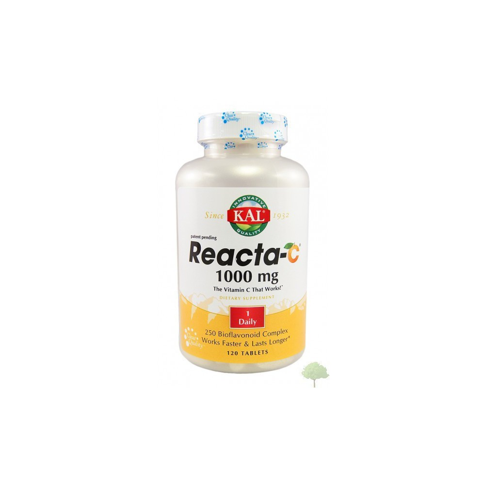 KAL Reacta C 1000 mg 60 Tabletas