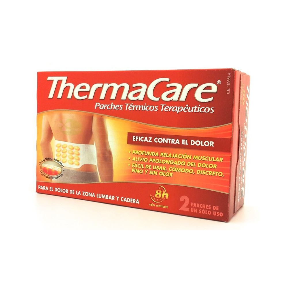 Thermacare Parches Termicos Lumbares 4 Unidades