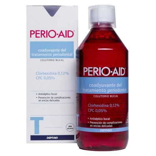Perio Aid Colutorio Tratamiento Sin Alcohol 150 ml.