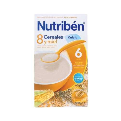 Nutriben 8 Cereales Y Miel Calcio