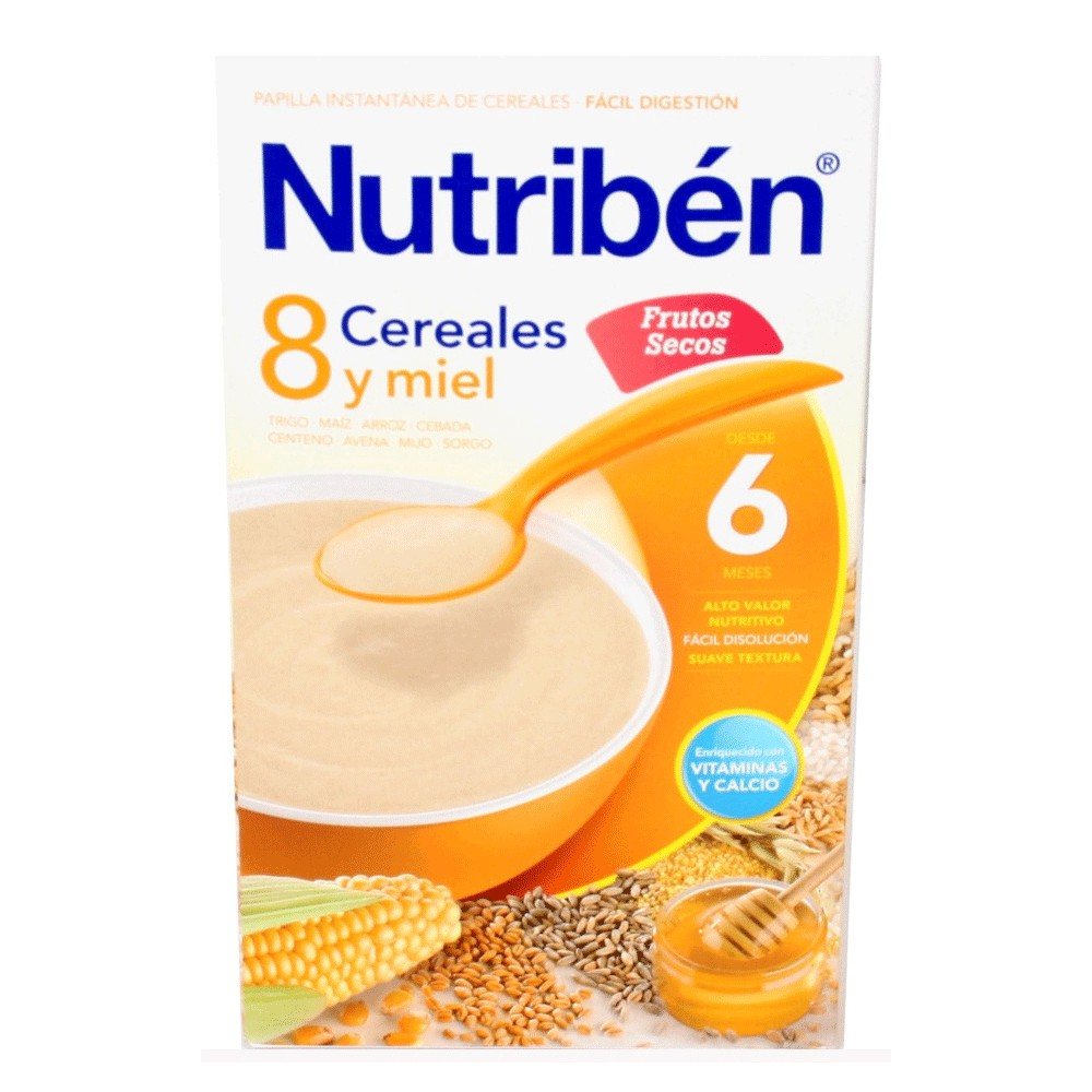 Nutriben 8 Cereales Y Miel Frutos Secos