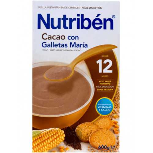 Nutriben Cacao Con Galleta Maria