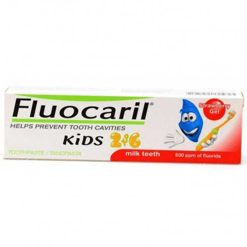 Fluocaril Kids Pasta Dentifrica 50 ml.