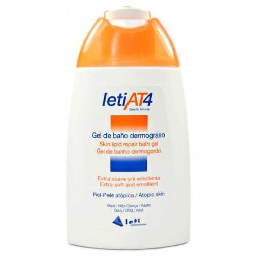 Leti At-4 Gel de Baño Dermograso