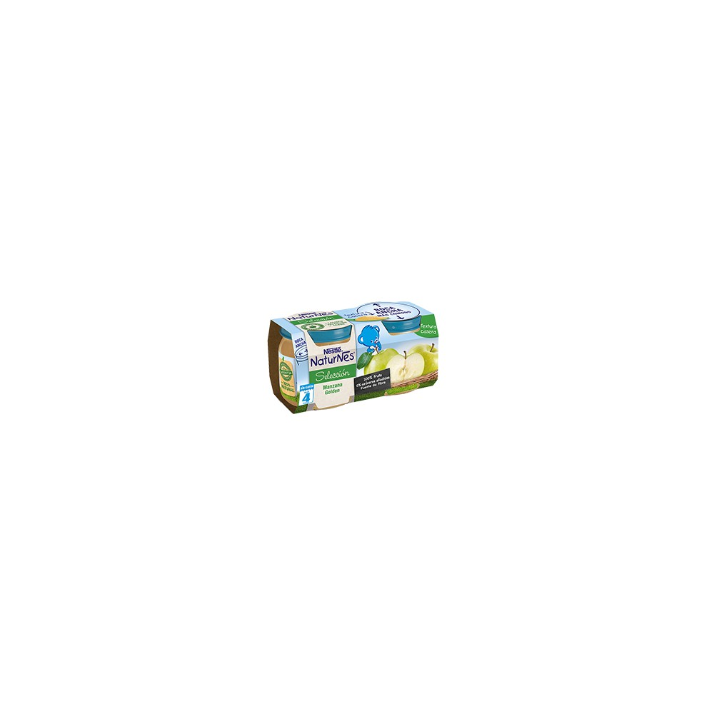 Nestle Naturnes Seleccion Manzana Golden 2x200 gr.