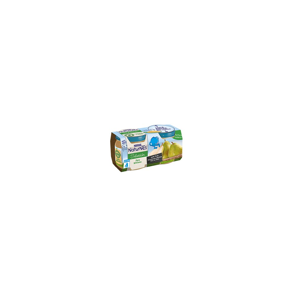 Nestle Naturnes Seleccion Pera Williams 2x200 gr.