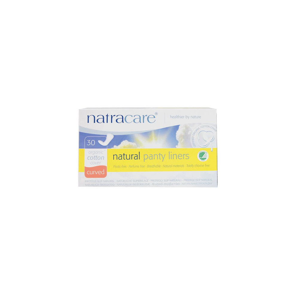 Natracare Salvaslips Anatomic Curved 30 Unidades