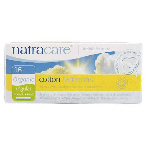 Natracare Tampon Regular 16 Unidades