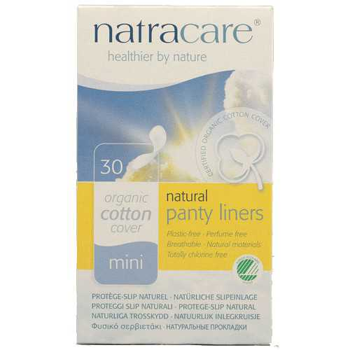 Natracare Salvaslip Mini 30 Unidades
