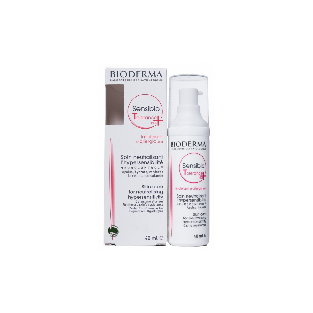 Bioderma Sensibio Tolerance Plus 40 ml.