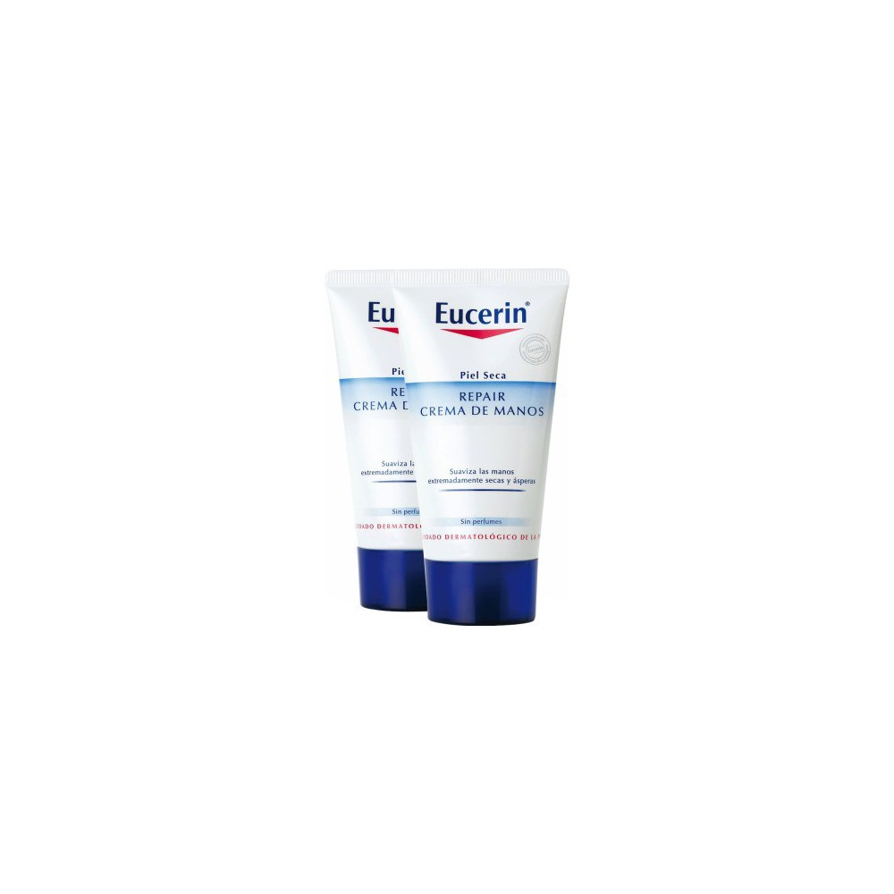 Eucerin Crema Manos Repair 75+75 ml.